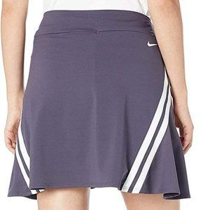 NEW Nike Dri-Fit Side Stripe UV Golf Skort Women's